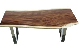 Benicia Dining Table with Stainless leg