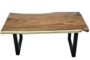 Chico Dining Table with Black leg